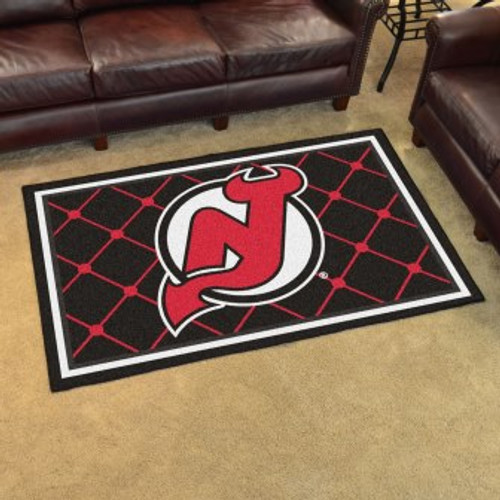 New Jersey Devils 4x6 Rug