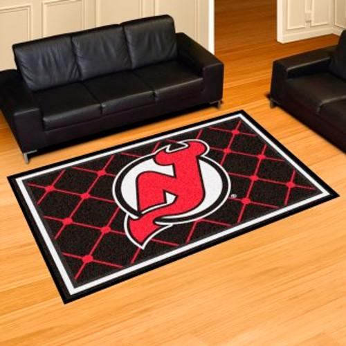 New Jersey Devils 5x8 Rug