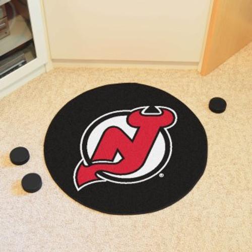 New Jersey Devils Puck Mat