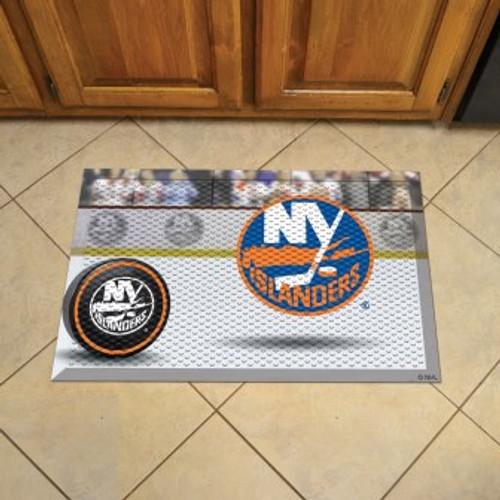 New York Islanders Hockey Scraper Mat