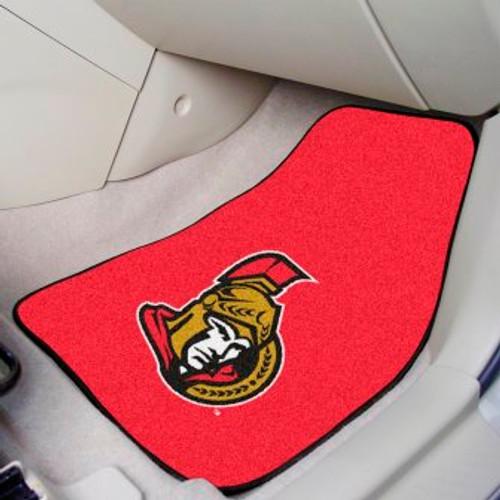 Ottawa Senators 2-pc Carpet Car Mat Set