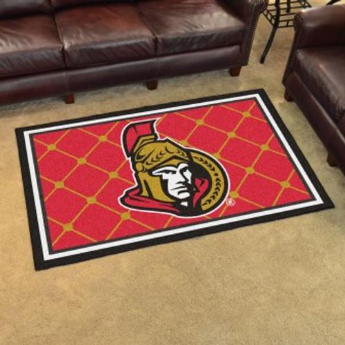 Ottawa Senators 4x6 Rug