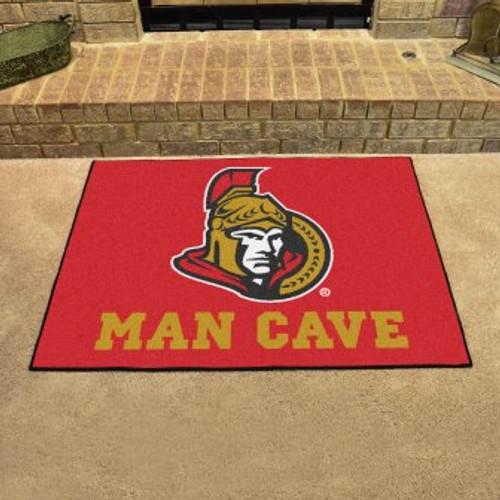 Ottawa Senators Man Cave All-Star Mat