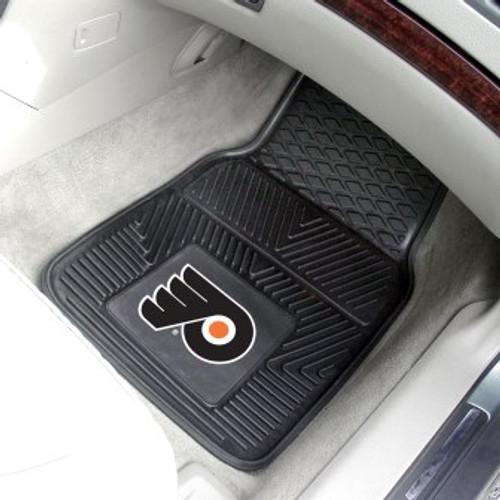 Philadelphia Flyers 2-pc Vinyl Car Mat Set