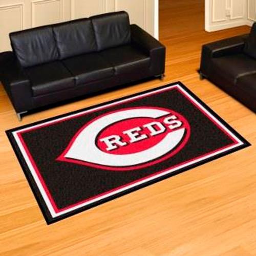 Cincinnati Reds 5x8 Rug