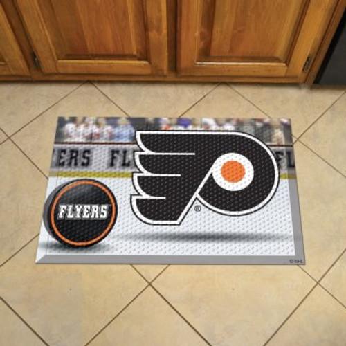 Philadelphia Flyers Hockey Scraper Mat