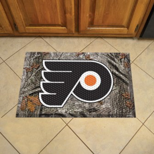 Philadelphia Flyers Camo Scraper Mat
