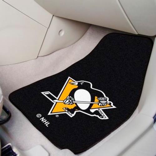 Pittsburgh Penguins 2-pc Carpet Car Mat Set