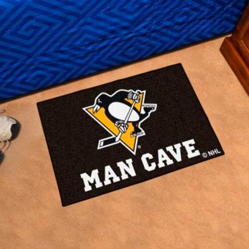 Pittsburgh Penguins Man Cave Starter Rug