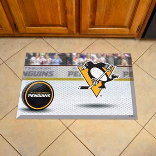 Pittsburgh Penguins Hockey Scraper Mat