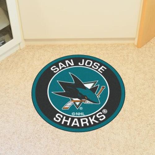 San Jose Sharks Roundel Mat