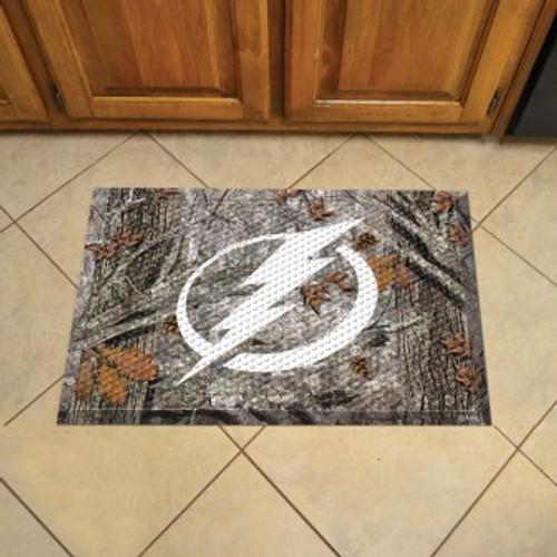 Tampa Bay Lightning Camo Scraper Mat