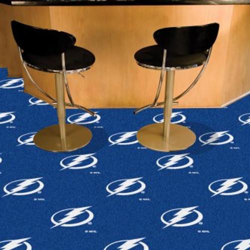Tampa Bay Lightning Team Carpet Tiles