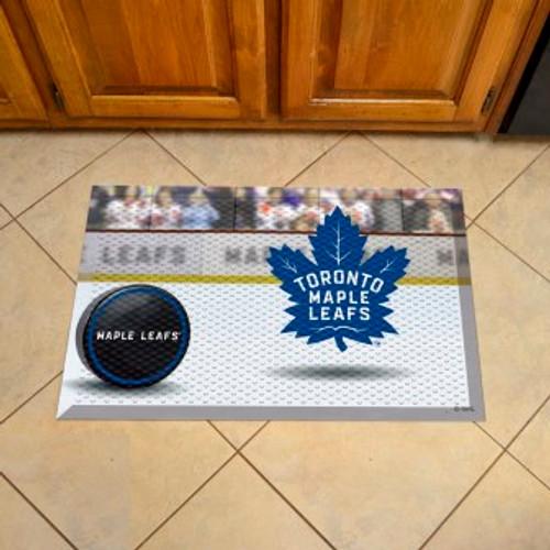 Toronto Maple Leafs Hockey Scraper Mat