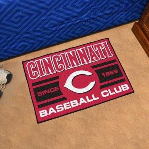 Cincinnati Reds Baseball Club Starter Mat