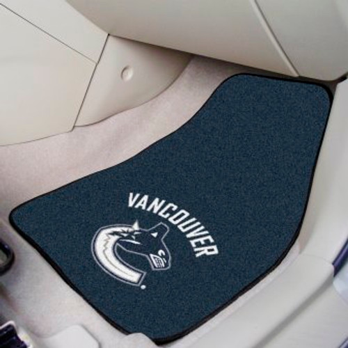Vancouver Canucks 2-pc Carpet Car Mat Set