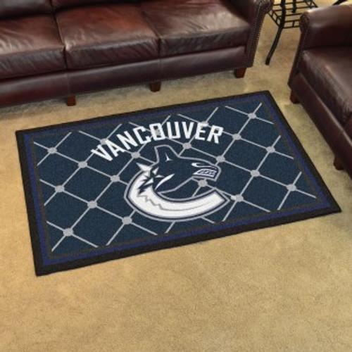 Vancouver Canucks 4x6 Rug