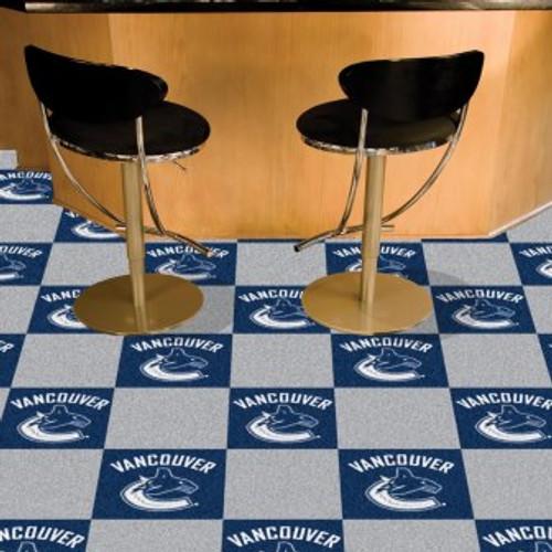 Vancouver Canucks Team Carpet Tiles