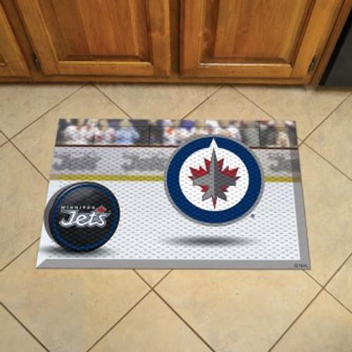 Winnipeg Jets Hockey Scraper Mat