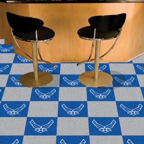 U.S. Air Force Team Carpet Tiles