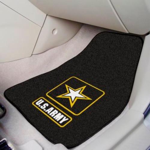 U.S. Army 2-pc Carpet Car Mat Set