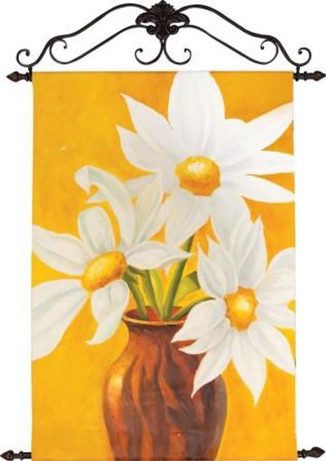 Golden Daisies Canvas Art