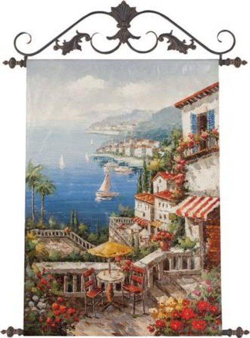 By The Sea Canvas Art
