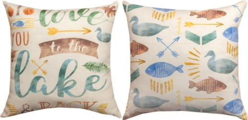 Lake Love Climaweave Pillow