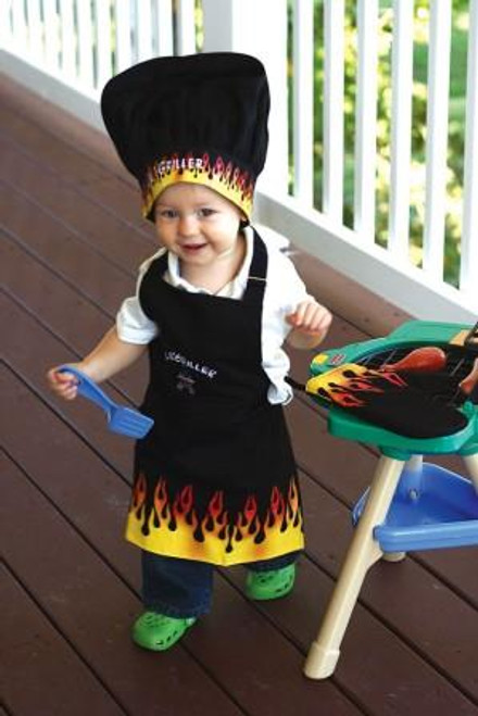 Manual Woodworkers Izzy Collection Love Bug Kids 3-Piece Apron Set