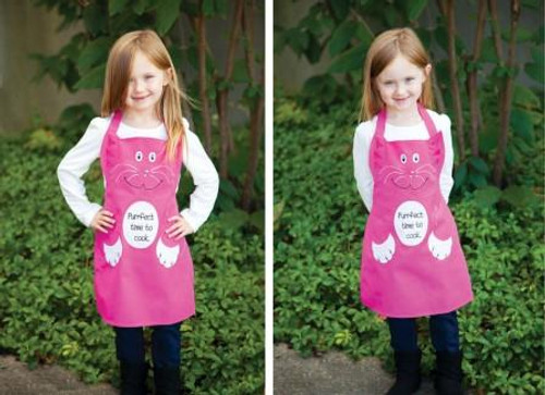 Izzy Purrfect Time To Cook Cat Apron