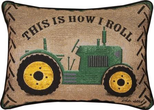 This Is How I Roll Tapestry Pillow