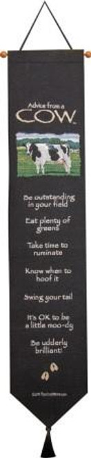 Advice From A Cow Bell Pull
