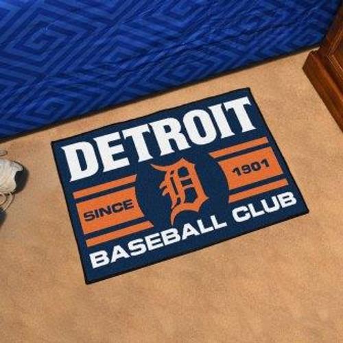 Detroit Tigers Baseball Club Starter Mat