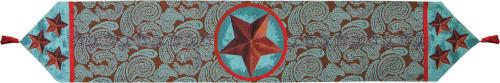 Wester Star Red Tapestry Runner