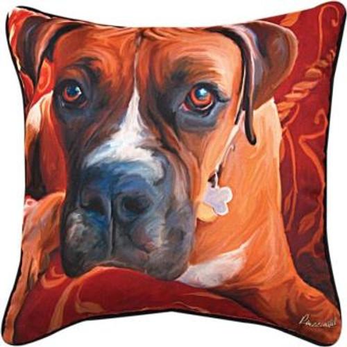 Harry Boxer Pillow