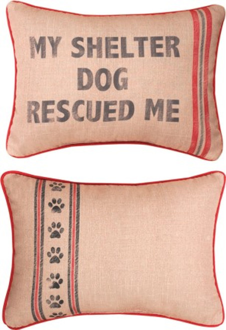 My Shelter Dog Pillow