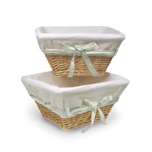 Natural Wicker Basket Set
