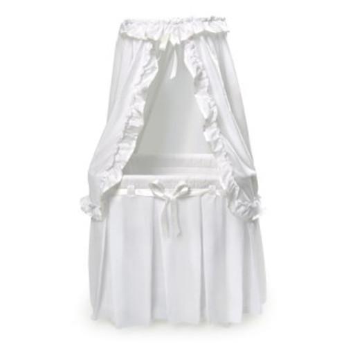 Majesty Baby Bassinet - Canopy-White Bedding