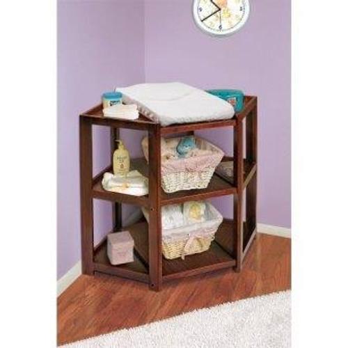 Diaper Corner Baby Changing Table-Cherry