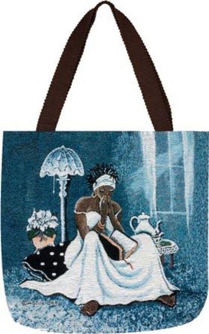 My Cup Runneth Over Jacquard Woven Tote