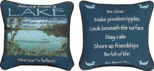 Advice From A Lake Pillow