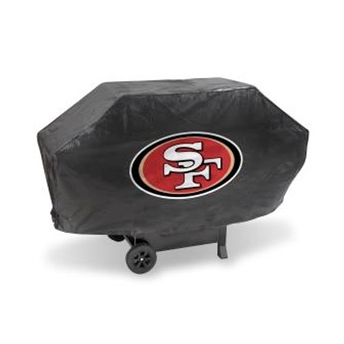 San Francisco 49ers Deluxe Black Grill Cover