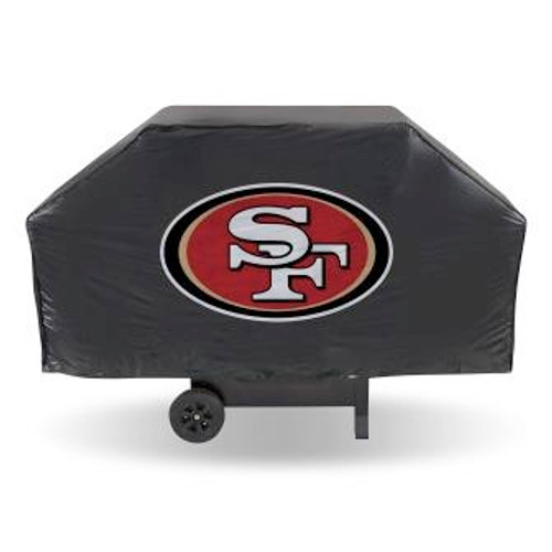 San Francisco 49ers Economy Black Grill Cover