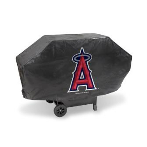 Los Angeles Angels Black Deluxe Grill Cover