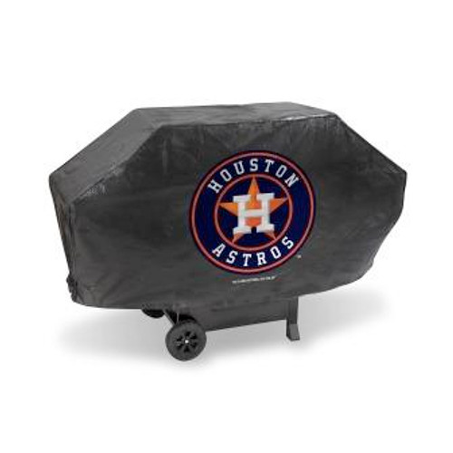 Houston Astros Black Deluxe Grill Cover