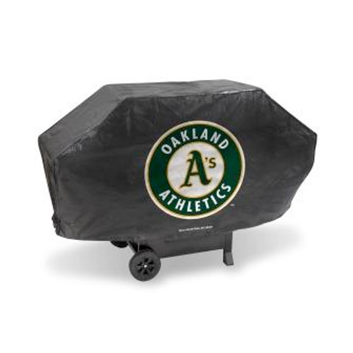 Oakland Athletics Black Deluxe Grill Cover