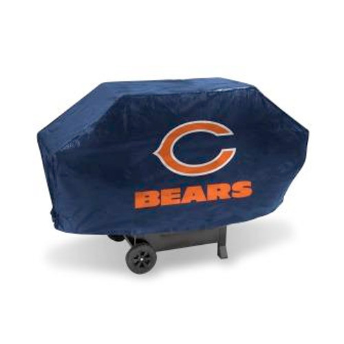 Chicago Bears Navy Deluxe Grill Cover