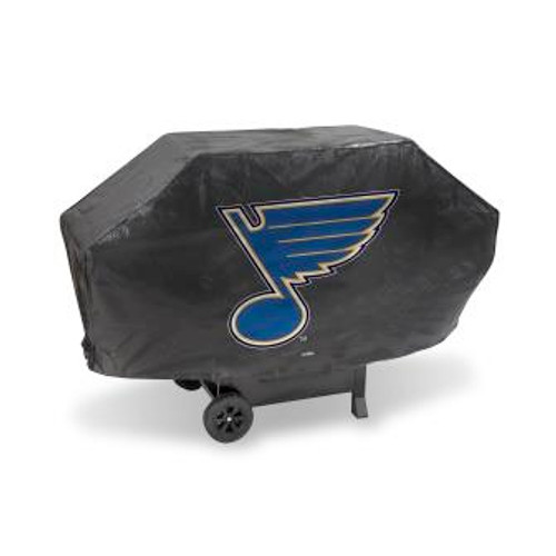 St Louis Blues Black Deluxe Grill Cover
