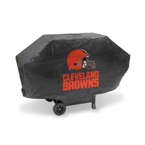 Cleveland Browns Black Deluxe Grill Cover