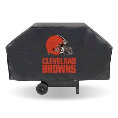 Cleveland Browns Black Economy Grill Cover